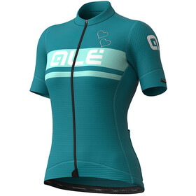 Alé Cycling PR-S Crystal Kurzarm Trikot Damen türkis